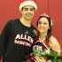 Cassandra Johnson and Joshua Sweet, both sophomores from Topeka, represent Allen Community College as 2015 Homecoming queen and king. They were crowned during the basketball games on Feb. 11.