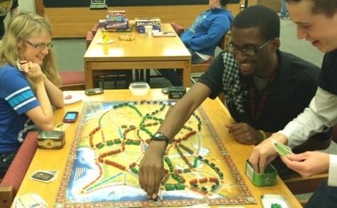 Library Hosts First 'Game Night'