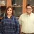 Betty Herring and Travis Robb are happy renovations to their biology laboratories are soon to be completed.