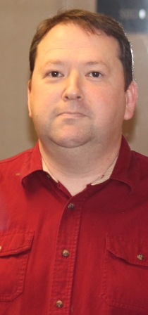 Erik Griffith is an English instructor at Allen who also teaches students about geography and mythology.