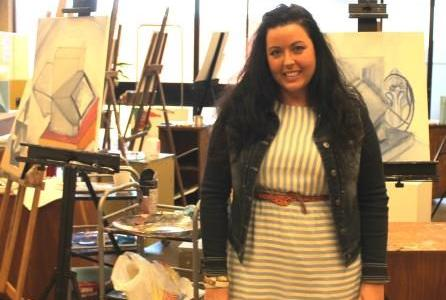 Tera Reed helps students find their artistic outlet as Allen's art instructor.