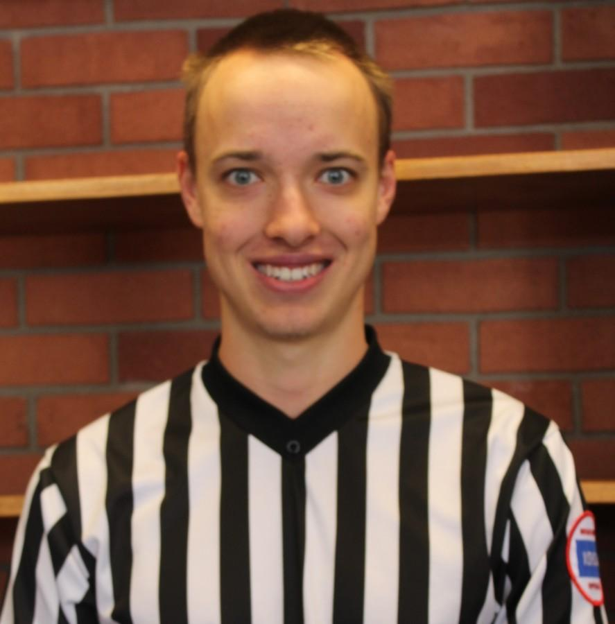Thomas Broxterman is a junior high and high school basketball referee, as well as a standout student at Allen.
