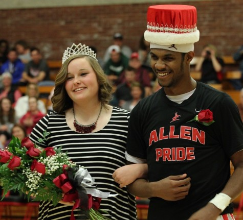 Ashley Womack and Jermaine Long are Allen