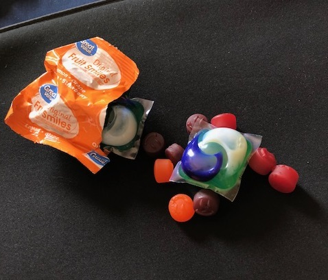 Laundry detergent pods have become the focus of the latest social media challenge.