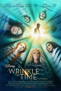 The movie poster for A Wrinkle in Time.