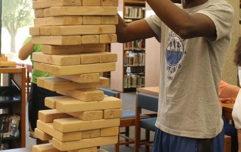 """Photo Gallery: Student's Enjoy Library """"Game Night"""""""