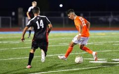 Feitosa, number 14, has competed in 8 games for Allen Community College men's soccer so far this year, and is excited for the rest of the season as a Red Devil.