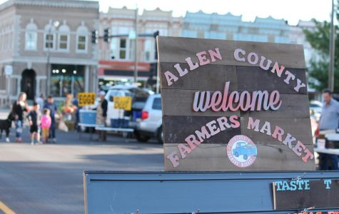 The Allen County Farmer's market runs April through October, and has many different locations to provide fresh food for the community.