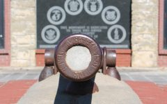 A Veterans Memorial Garden willl soon surround the Memorial Wall found in the historic town square in Iola, Kan.