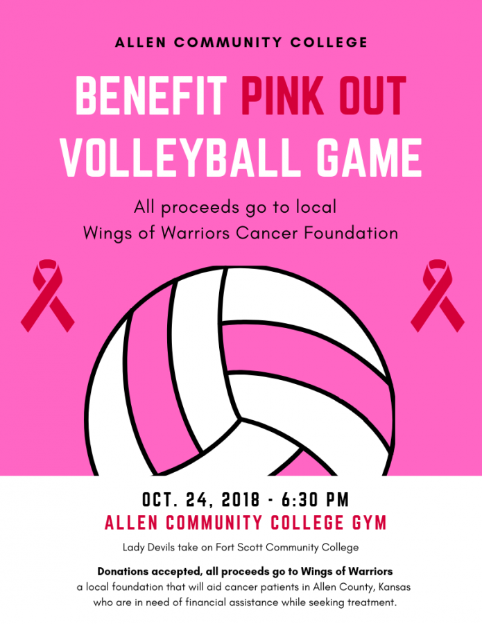 Pink Out Game Set to Benefit Community