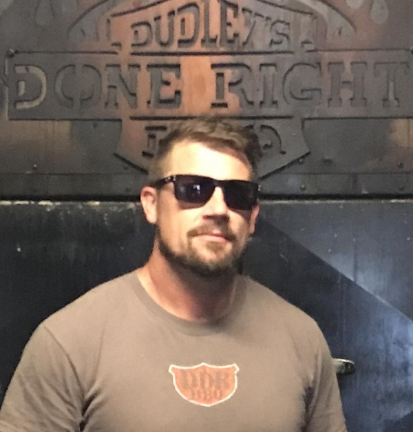 Marshall Barnhart, owner of Dudley's Done Right Barbecue and founder of Rocktoberfest
