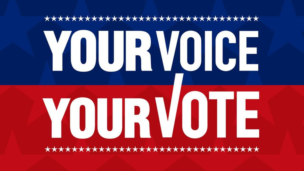 Your vote is your voice. The voter registration deadline to vote in the Nov. 6 election is Oct. 16. Register to vote and make your voice heard.