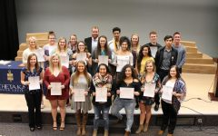 Photo Gallery: Students Inducted into PTK Honor Society