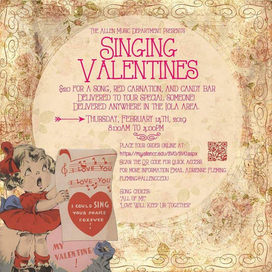 Choir Sells Singing Valentine's to Locals