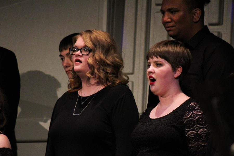 Fort Scott Community College Choir performed