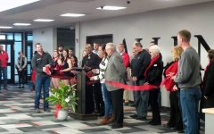 The Allen Community College Board of Trustees attended the ribbon cutting for the new Student Center in January, and are some of the most influential voices at the college.