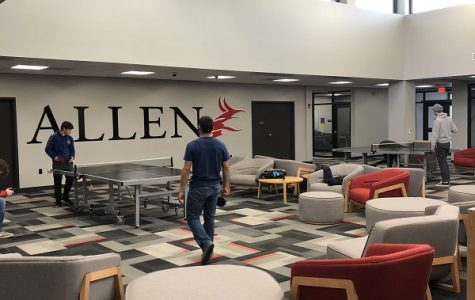 Allen's Student Center Offers a Relaxing Environment