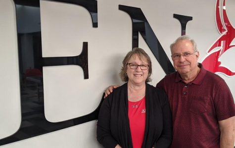 Terri and Tony Piazza have been familiar faces at Allen for the past two decades.