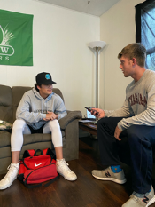 ACC Freshmen Adjust to College Life After an Unusual Senior Year