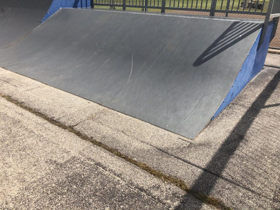 Iolas Riverside Park offers skaters a place to go, but its condition leaves something to be desired.