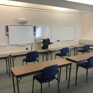 Flex classes, one of the changes made at ACC this year, leave many classrooms empty.
