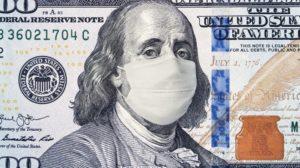 COVID-19 masked $100 Bill